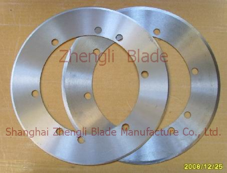 181. CIRCULAR SLITTING KNIFE, CIRCLE ROLLING CUTTER,GREAT CIRCLE CUTTER Parameters