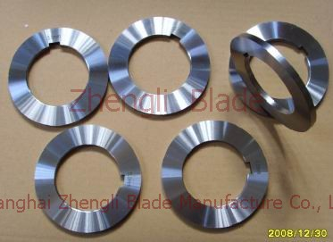 394. CUTTING  CUTTING MACHINE WAFER KNIVES, POINTS OF THE DISC CUTTER,DISC CUTTER Design