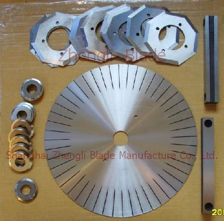 483. CUTTING BLADES, ADHESIVE ROUND-CUT BLADE,ADHESIVE TAPE CUTTER Manufacturing