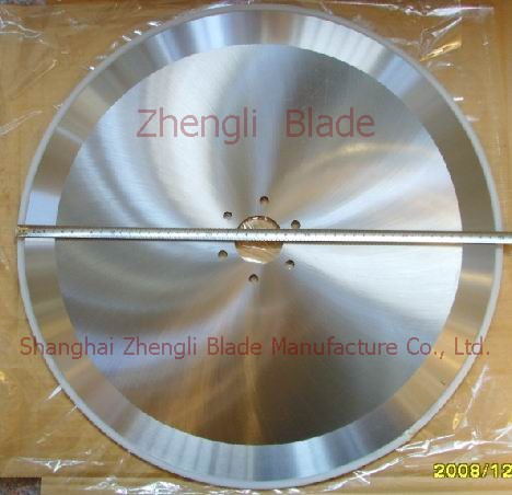 662. CUTTING PAPER MACHINERY BLADES, NONWOVENS ROUND-CUT KNIFE,PLATE CUTTING COMBINATION MACHINE WITH CIRCULAR BLADE Direct sales