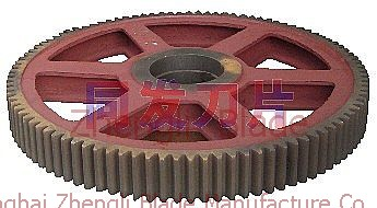 2333. CUTTING PLATE MACHINE ROLLER GEAR, BIG GEAR,ROLLING GEAR Cooperation