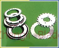 2567. SERRATED CUTTER, TOOTH SHAPE ROLLER SECTIONS,HIGH DENSITY SAWTOOTH SIPE Quote