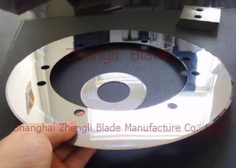 2714. SPUNLACED NON-WOVEN FABRIC CUTTING GARDEN BLADE, SPUNLACE NON-WOVEN FABRIC CUTTING GARDEN KNIFE Round blade