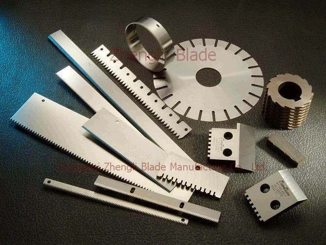 1408. TOOTH BLADE,PLASTICS INDUSTRY PLASTICS INDUSTRY BLADE WITH TEETH Production