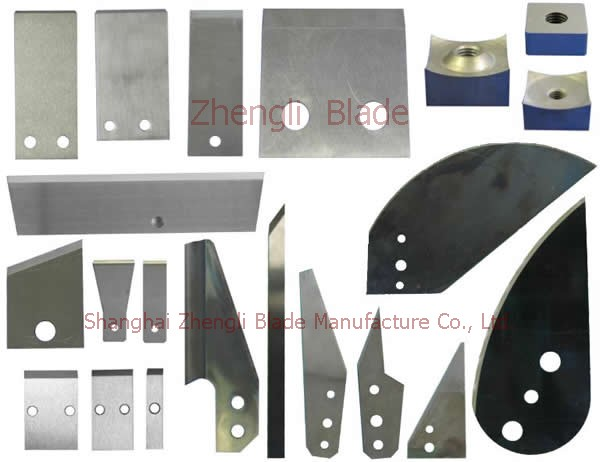 4119. HIGH CARBON STEEL KNIFE FACTORY, CANDY PACKAGING MACHINE CUTTER,TEXTILE CLOTH CUTTING KNIFE Import