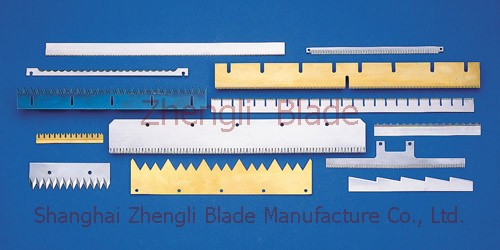 3547. CLOTH, CLOTH CUTTING MACHINE TOOTHED BLADE,STICKERS LONG BLADE WITH CUTTING KNIFE Order