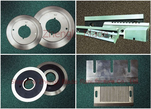 3688. THIN BLADE COMPRESSOR BLADE,WRAPPING PAPER TUBE MACHINERY ROUND-CUT BLADE To create