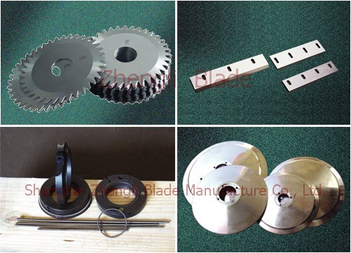 3981. MUTTON SLICING MACHINE BLADE, HARD ALLOY KNIFE,RUBBER PASTE CUTTING KNIFE Preferred
