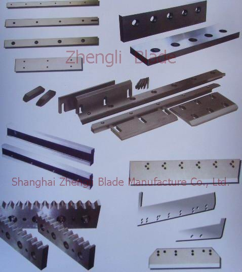 4686. CUTTING BLADE STEEL BAR STRAIGHT, BREAKING KNIFE,ROUND BAR STEEL CUTTING BLADE Drawings
