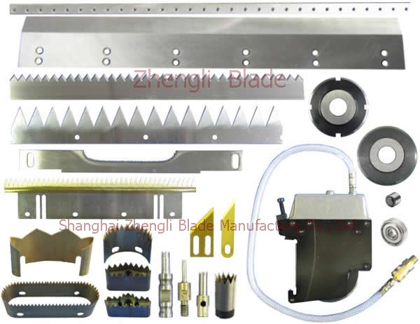 4394. VEST BAG MACHINE, POINT BREAK DOUBLE CUTTER KNIFE, SEALING CUP,POINTS OFF BAGS MACHINE BLADE Information