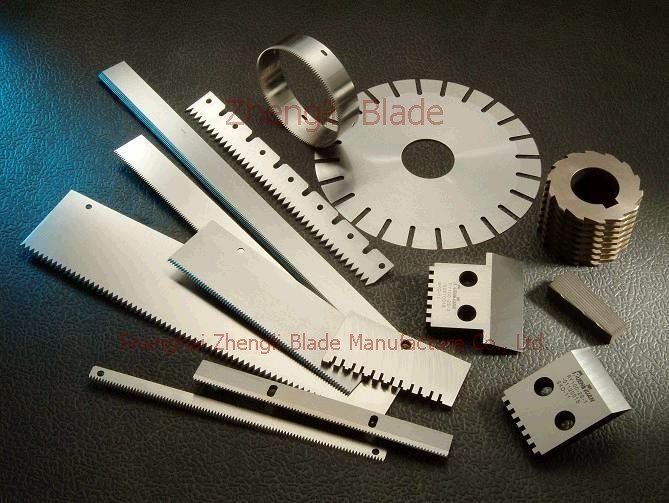 4852. SERRATED CLOTH PROTOTYPE MODEL MACHINE BLADE, SERRATED BLADE,CLOTH CUTTING KNIFE Direct sales