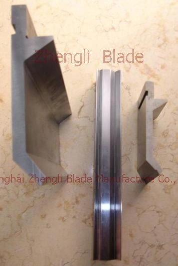 5079. BENDING MACHINE KNIFE, DOUBLE V GROOVE FOLD BENDING DIE,ELONGATED RAILS Blade